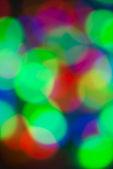 Christmas lights bokeh background — Stock Photo