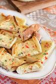 トルコのチーズ pide — ストック写真