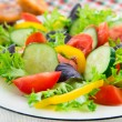 Fresh mixed vegetable salad — Stock Photo