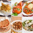 Collage of Middle Eastern food — Stock Photo #26424165