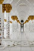 Sheikh zayed camisi abu dhabi, birleşik arap emirlikleri — Stok fotoğraf