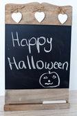 ресторан blackboard, счастливый хэллоуин — Стоковое фото