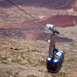 Cable Car on Teide Canarian islands, Tenerife — Stock Photo