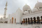Mesquita sheikh zayed, em abu-dhabi, emirados árabes unidos — Foto Stock