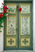 Old door in Friedrichshafen, Germany — Stock Photo
