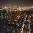 New York City Manhattan  panorama — Foto Stock