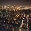 New York City Manhattan  panorama — Lizenzfreies Foto