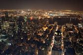 New york city manhattan panorama — Stockfoto