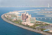 Dubai, UAE. Atlantis hotel from above — Stockfoto