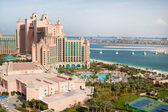 Dubai, UAE. Atlantis hotel from above — Stock Photo