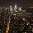 Stock Photo: New York City Manhattan skyline view