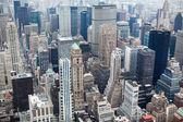 Vue de new york city manhattan skyline — Photo