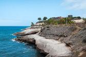 Rocky coastline of Tenerife one of the Canary Islands — Stock Photo