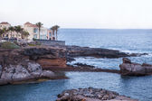 Rocky coastline of Tenerife one of the Canary Islands — Stock Photo