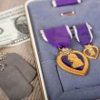 Stock Photo: Purple Heart Military medal