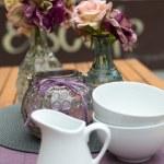 Decoration of summer garden table — Stock Photo #25748123
