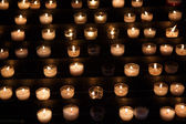 Church candle — Stockfoto