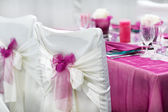 Table set for wedding or event party. — Stock Photo