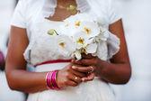 Bride bouquet, closeup. — Stock Photo