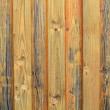 Stock Photo: Old wooden background in ochre color