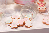 Sweet cakes for wedding — Stock Photo