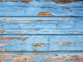 Old wooden background in light blue color — Foto de Stock