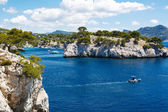 Calanques of Port Pin in Cassis, Provence, France — Stock Photo