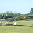 "Former military airplane T-28 ""Fennec"" french version — Stock Photo #12801929"