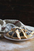 Cookies with poppy seed — Foto de Stock