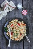 Cauliflower couscous — Stock Photo