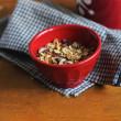 Homemade granola — Stockfoto