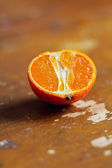 Half of fresh orange — Stock Photo