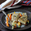 Roasted pangasius fish fillet — Stock Photo