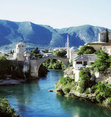 The Old Bridge, Mostar, Bosnia and Herzegovina — Stock Photo