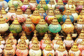 Turkish multicolored lanterns — Stock Photo