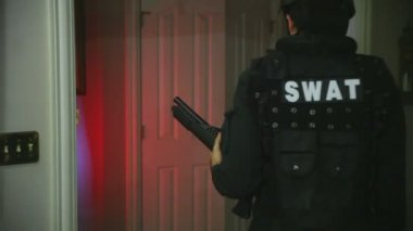 SWAT officer — Stock Video