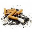 Cigarette ends — Stock Photo #12734209
