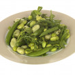 Edamame Soya Bean Salad — Stock Photo