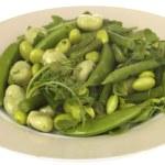 Edamame Soya Bean Salad — Stock Photo #12749417