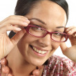 Young Woman Wearing Glasses — Stock Photo #12756804