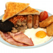 Full English Breakfast - Stock Photo