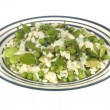 Pea Broad Bean and Asparagus Risotto — Stock Photo
