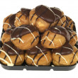Chocolate Profiteroles — Stock Photo