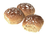 Dusted Soft Brown Bread rolls — Stock Photo