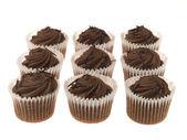 Babeczka czekolada — Zdjęcie stockowe