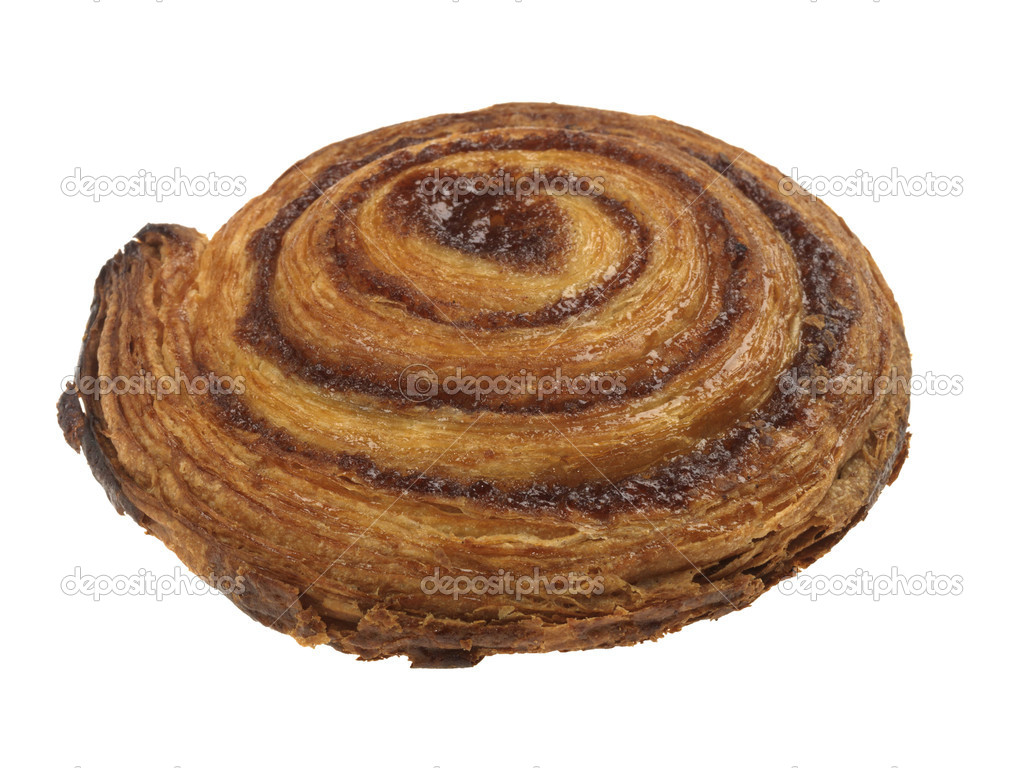 Cinnamon Swirl Danish Pastry — Stock Photo © richardmlee #13211057