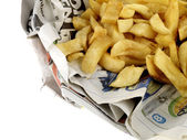Portion of Chips — Stock Photo