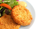 Haddock Fishcakes — Stock Photo