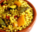Israeli and Sardinian Couscous Salad — Stock Photo