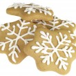 Christmas Decorated Biscuits — Stock Photo